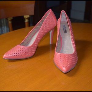 Coral Halogen Heels